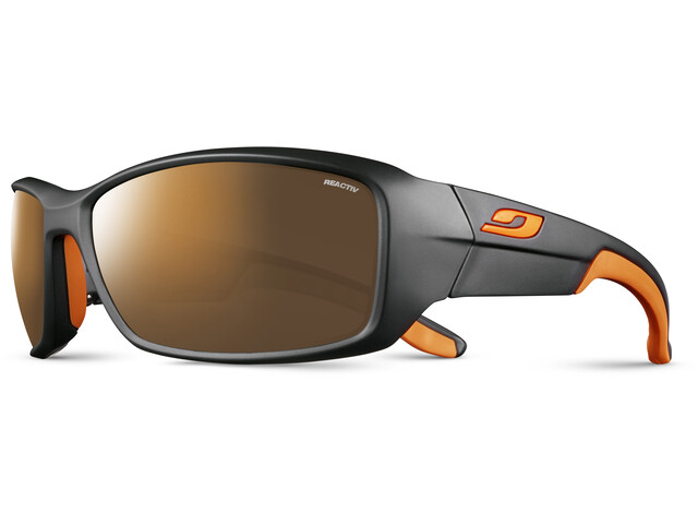 Julbo Run Reactiv High Mountain 2-4 Sunglasses, black/orange